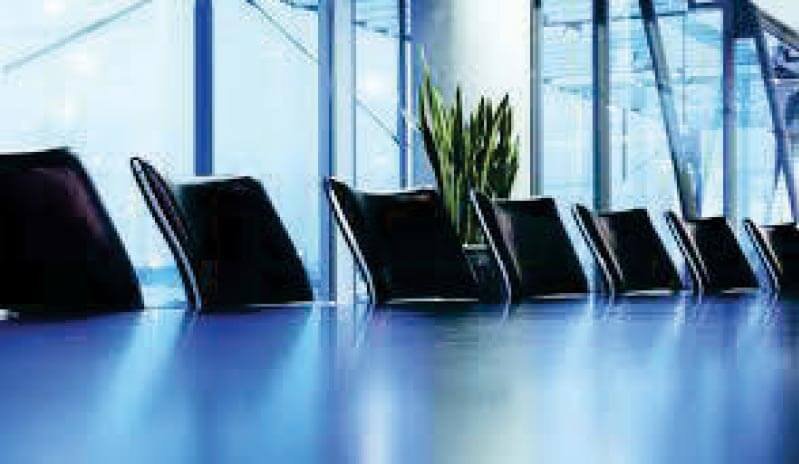 Chaises salle de conférences des notaires